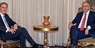 İngiltere Dışişleri Bakanı, KKTC Cumhurbaşkanı Akıncıyı ziyaret etti