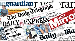 İngiltere medyasının gündemini Irak oluşturuyor