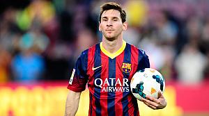 İngiltere spor basını Messi'yi konuşuyor