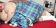 İngilterenin en şişman adamı 413 kiloluk Thompson