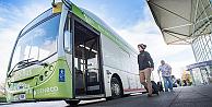 İnsan dışkısı ile çalışan ilk otobüs trafiğe çıktı