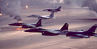 IŞİDe koalisyon uçaklarından 23 hava saldırısı