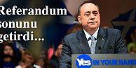 İskoçya Özerk Yönetimi başbakanı istifa etti