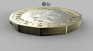 İşte İngiltere'nin 12 köşeli yeni parası