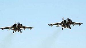 İki jet uçağı havada çarpıştı!