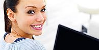 Kadınlar internette daha aktif