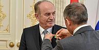 Kadir Topbaşa Tataristandan Devlet Madalyası