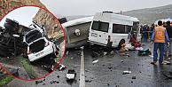 Katliam gibi trafik kazasında çok sayıda ölü var!