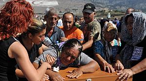 Kıbrısta, 34 Taşkent şehidi, toprağa verildi