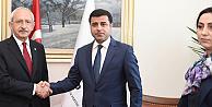 Kılıçdaroğlu, Demirtaş ve Yüksekdağ ile Meclis'te görüştü