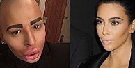 Kim Kardashiana benzemek için 150 bin dolar harcadı