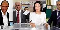 KKTCde adaylar ve liderlerin seçim açıklamaları