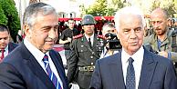 KKTCnin dördüncü Cumhurbaşkanı Akıncı göreve başladı
