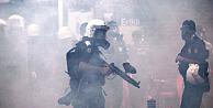 Kobani eylemine polis müdahalesi