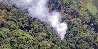 Kolombiyada askeri helikopter düştü: 15 ölü