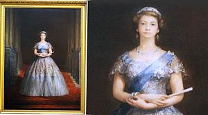Kraliçe'nin sevmediği portresi sergide
