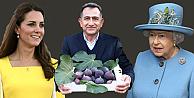 Kraliyet ailesine şifa niyetine Bursa inciri