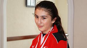 Kübra Öztürk Karatede Dünya İkincisi