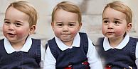 Küçük Prens annesine Noel pozu verdi