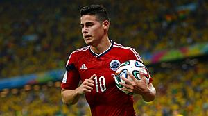 Kupanın gol kralı James Rodriguez