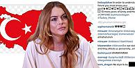 Lindsay Lohan'ın seçim paylaşımı sosyal medyayı salladı