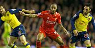 Liverpool, Arsenali ağırladı, son dakika puanı kaptı