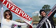 Liverpool taraftarı Sultanahmette