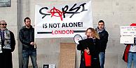 Londrada Çarşı protestosu