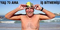 Manş Denizini 12 saatte yüzerek geçti