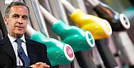 Petrol fiyatlarındaki düşüşe Mark Carneyden fakat şerhi!