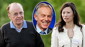 Medya imparatorunun yuvasını Blair yıkmış