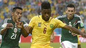 Meksika, Kamerun'u Peralta'nın golüyle devirdi