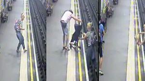 Metro raylarna düşen bebeğin mucize kurtuluşu