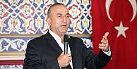 Mevlüt Çavuşoğlu Londrada konuştu