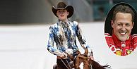 Michael Schumacherin kızı at üzerinde şov yaptı