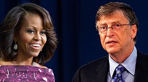 Michelle Obama ve Bill Gates'in bilgileri çalındı