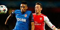 Monaco kendi evinde Arsenali bozguna uğrattı: 3-1