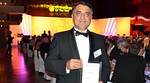 Mustafa Baklan'a 'Yılın Girişimcisi' ödülü
