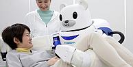 Müstakbel hasta bakıcınız şefkatli robot Robear