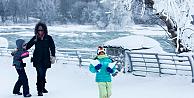 Niagara Şelalesi bir asırdır ilk kez dondu