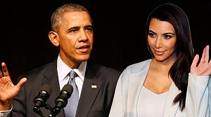 Obama, Kim Kardashian için bakın ne dedi!