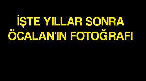 Öcalan'ın İmralı'da fotoğrafı ortaya çıktı