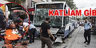 Otobüsün freni boşaldı: 12 ölü