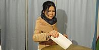 Özbekistanda cumhurbaşkanını seçiyor