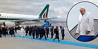 Papa Francesco 3 günlük Türkiye ziyareti için Ankarada