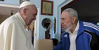 Papa, Havana'da Fidel Castro ile biraraya geldi