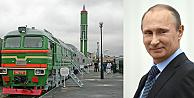 Putin'in, nükleer trenleri yola çıkıyor!