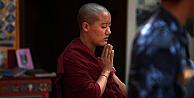 Rahibe 'Tibete özgürlük dedi, kendini yaktı
