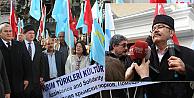 Rusyanın Kırımı işgalinin birinci yılı protesto edildi