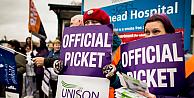 Sağlık çalışanları grevde